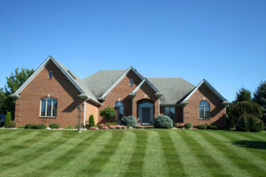 houses after lawn services in Margate fl